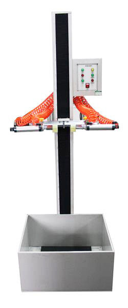 Small Electronics Drop Test Machine Free Fall Tester 300mm~1500mm Height Adjustable, 2000mm Customized