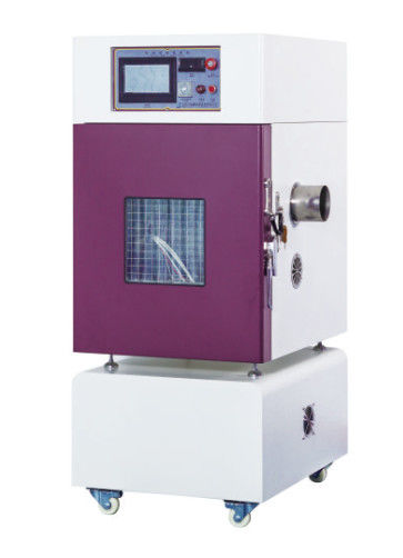 RT + 10~100℃ Battery External Short Circuit Test Chamber PLC / Remote Control upto 1000A ( UN38.3.4.5)