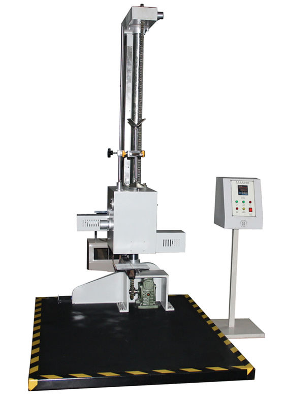Power Battery Drop Free Testing Machine Carton Free Drop Tester 1 - 2 Meter Single Column Electromagnetic Type