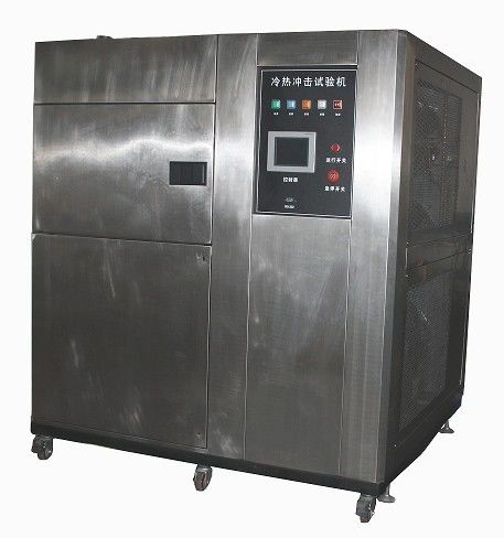 Independent Three Zone Temperature Rande of -40℃ ~ +150℃ Cold Heat Temperature Fast Change Thermal Shock Test Chamber