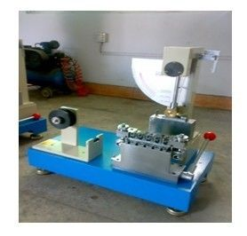 90 Degrees Angle APPI Paper Testing Equipments for Internal Bond Impact Test